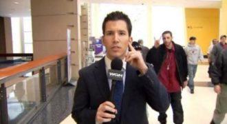 Ρεπόρτερ εκδικείται όσους χαιρετάνε την κάμερα πίσω από την πλάτη του!(Video)