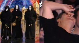 Μπήκαν στη σκηνή φορώντας αυτές τις μάσκες. Η συνέχεια θα σας αφήσει έκλπηκτους!