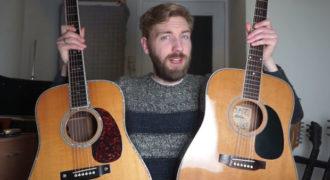 Σύγκριση κιθάρων 150 vs 5.000 δολαρίων: Αξίζει η διαφορά τιμής; (Video)