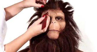 Άντρας μετατρέπεται σε πίθηκο! (Video)