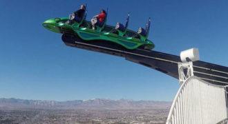 Σε αυτό το roller coaster στο Las Vegas ίσως χρειαστείτε και δεύτερο εσώρουχο