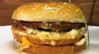 Τι θα συμβεί αν ρίξεις θειικό οξύ σε ένα Big Mac μπέργκερ;