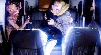 Φάρσα από άλλο πλανήτη: Επιβάτες ταξί έρχονται αντιμέτωποι με εξωγήινους