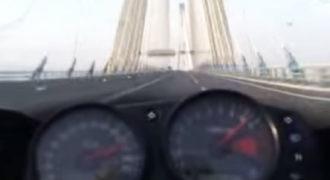 Πέρασε τη γέφυρα Ρίου-Αντιρρίου με 300 χιλιόμετρα την ώρα. (Βίντεο)
