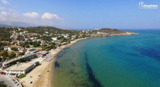 Χίος: Η κοσμοπολίτικη παραλία του Καρφά από… ψηλά!