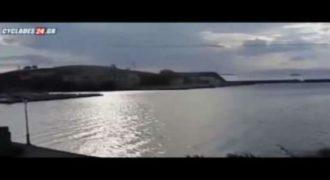 Μοναδικό φαινόμενο! Ρουφήχτρα εμφανίστηκε στη Σύρο (Video)