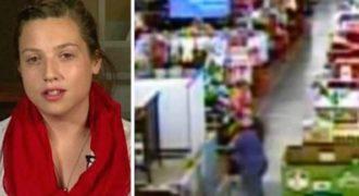 17χρονη ακούει Δυνατά Ουρλιαχτά μέσα στο Σούπερ Μάρκετ. Η Αντίδρασή της; Αξίζει Συγχαρητήρια!