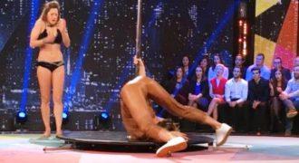 Η Ντροπιαστική στιγμή που έζησε η Μις Γαλλία, όταν προσπάθησε να κάνει την Striper !!!