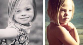 Η 7χρονη με το Σύνδρομο Down που «έριξε» το YouTube. Δείτε το Αξιολάτρευτο Βίντεο από τη Ζωή της! Δεν είναι Κούκλα;