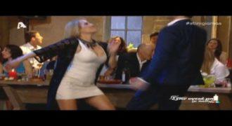 Όταν η Τζένη Μπότση αναστάτωσε όλο το στούντιο με το τσιφτετέλι της! [video]