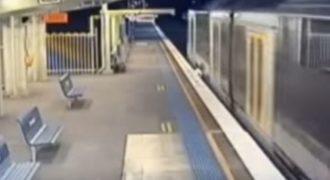 Οφείλει τη ζωή του σε ένα θαύμα – Επέζησε από χτύπημα τρένου!