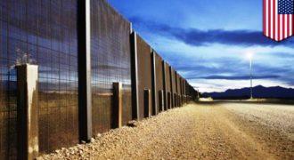 Το τι πραγματικά σημαίνει ένα τείχος στα σύνορα των ΗΠΑ με το Μεξικό αποκαλύπτεται σε ένα ιλιγγιώδες βίντεο