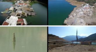 Το χωριό Σφεντύλι της Κρήτης που αναδύθηκε μέσα από το νερό (Video)