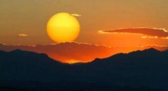 Η κίνηση του ήλιου για έναν χρόνο σε ένα βίντεο!