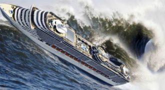 Θα σας κόψει την ανάσα: 10 πλοία δίνουν μάχες με πελώρια κύματα! [Βίντεο]