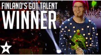 Αυτός ο τύπος ΚΕΡΔΙΣΕ το Φινλανδία έχεις ταλέντο με τον ΠΙΟ απίστευτο τρόπο (Video)
