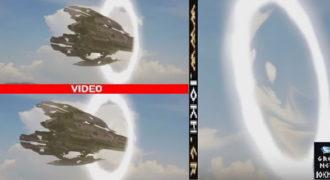 ΑΝΟΙΞΕ ΠΥΛΗ ΠΑΝΩ ΑΠΟ ΤΟ ΒΟΣΠΟΡΟ? Δείτε καρέ-καρέ UFO να βγαίνει από αυτή! (Βίντεο)