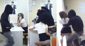 Μπήκε στο Γραφείο και άρχισε να την Χτυπάει. Δεν περίμενε όμως με τίποτα ΑΥΤΗ την Αντίδραση (Προσοχή Σκληρές Εικόνες)