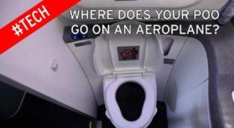 Που πηγαίνουν τα απόβλητα των αεροπλάνων; Ένας μύθος καταρρίπτεται…!