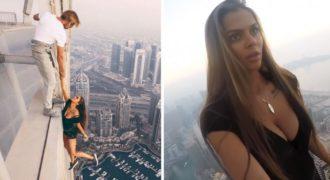 Η Ρωσίδα καλλονή που… ρισκάρει την ζωή της για μια φωτογράφηση στο Ντουμπάι! (ΒΙΝΤΕΟ)