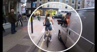 Οδηγός κάνει καμάκι σε ποδηλάτρια και την αγγίζει – Δείτε την αντίδρασή της!