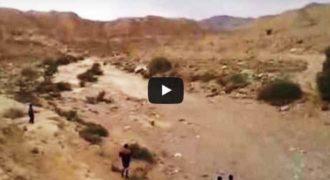 ΑΠΙΣΤΕΥTO! Ένα ποτάμι γεννιέται ξαφνικά στην μέση της ερήμου! (Βίντεο)
