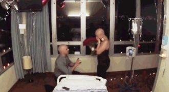 Της έκανε πρόταση γάμου την τελευταία μέρα της χημειοθεραπείας της