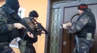 Ντροπιαστικό βίντεο με τουρκικές ειδικές δυνάμεις σε δράση  (Video)