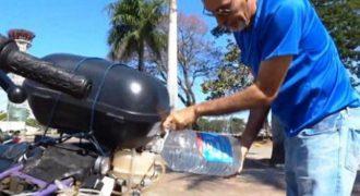 ΘΑ ΤΟΝ ΕΞΑΦΑΝΙΣΟΥΝ ΚΙ ΑΥΤΟΝ !!! Μοτοσικλέτα διανύει 500 χιλιόμετρα με… ένα λίτρο νερό! ΑΠΙΣΤΕΥΤΗ εφεύρεση…