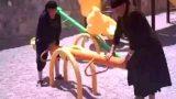 Η ΤΡΑΜΠΑΛΑ ΤΗΣ… ΓΙΑΓΙΑΣ! Θα κλάψετε στα γέλια! (Βίντεο)