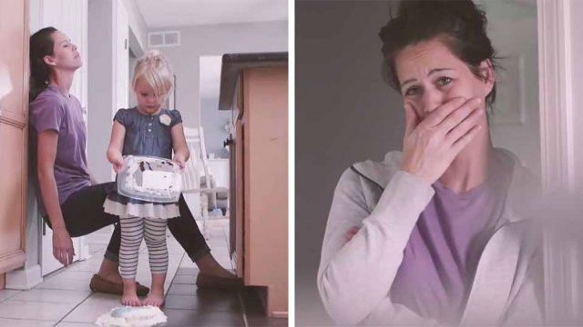 Βίντεο δείχνει πως είναι η μέρα μιας μαμάς και πως ενός μωρού μέσα από τα μάτια του καθενός