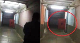 Ένας Αστυνομικός βρισκόταν στο Νεκροτομείο και είδε να ανοιγοκλείνει από μόνη της μια πόρτα. Όταν πλησίασε πιο κοντά… του κόπηκαν τα πόδια! (Βίντεο)
