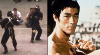 Εξωπραγματικός ο μοναδικός «Αληθινός» αγώνας του Bruce Lee! (Βίντεο)