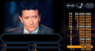 Δεν το χωράει ο νους: Έχασε 50 εκατομμύρια στον «Εκατομμυριούχο» στην πιο πονηρή ερώτηση που έχει γίνει ποτέ σε τηλεπαιχνίδι
