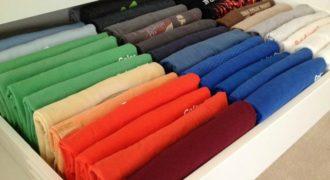Αυτός είναι ο Καλύτερος Τρόπος για να Διπλώσετε τα Ρούχα σας σε Χρόνο Ρεκόρ και να τα έχετε πάντα όλα Τακτοποιημένα!