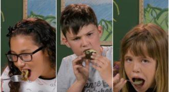 Τι συμβαίνει όταν παιδιά από την Αμερική δοκιμάζουν για πρώτη φορά ντολμάδες, φακές και παπουτσάκια;