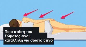 Η θέση και η στάση του σώματος στον ύπνο, μπορεί να σας φέρνει εφιάλτες (Βίντεο)
