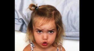 2χρονο κορίτσι διαμαρτύρεται για την καθυστέρηση του αεροπλάνου. Δείτε την ξεκαρδιστική αντίδρασή της!