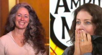 Η 52χρονη γυναίκα δεν είχε βάψει ποτέ τα γκρίζα μαλλιά της. Τότε η αδερφή της την βλέπει να βγαίνει από το κομμωτήριο της εκπομπής και παγώνει!