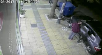 Κλέφτης αρπάζει αυτοκίνητο στο Παγκράτι σε χρόνο ρεκόρ (Βίντεο)